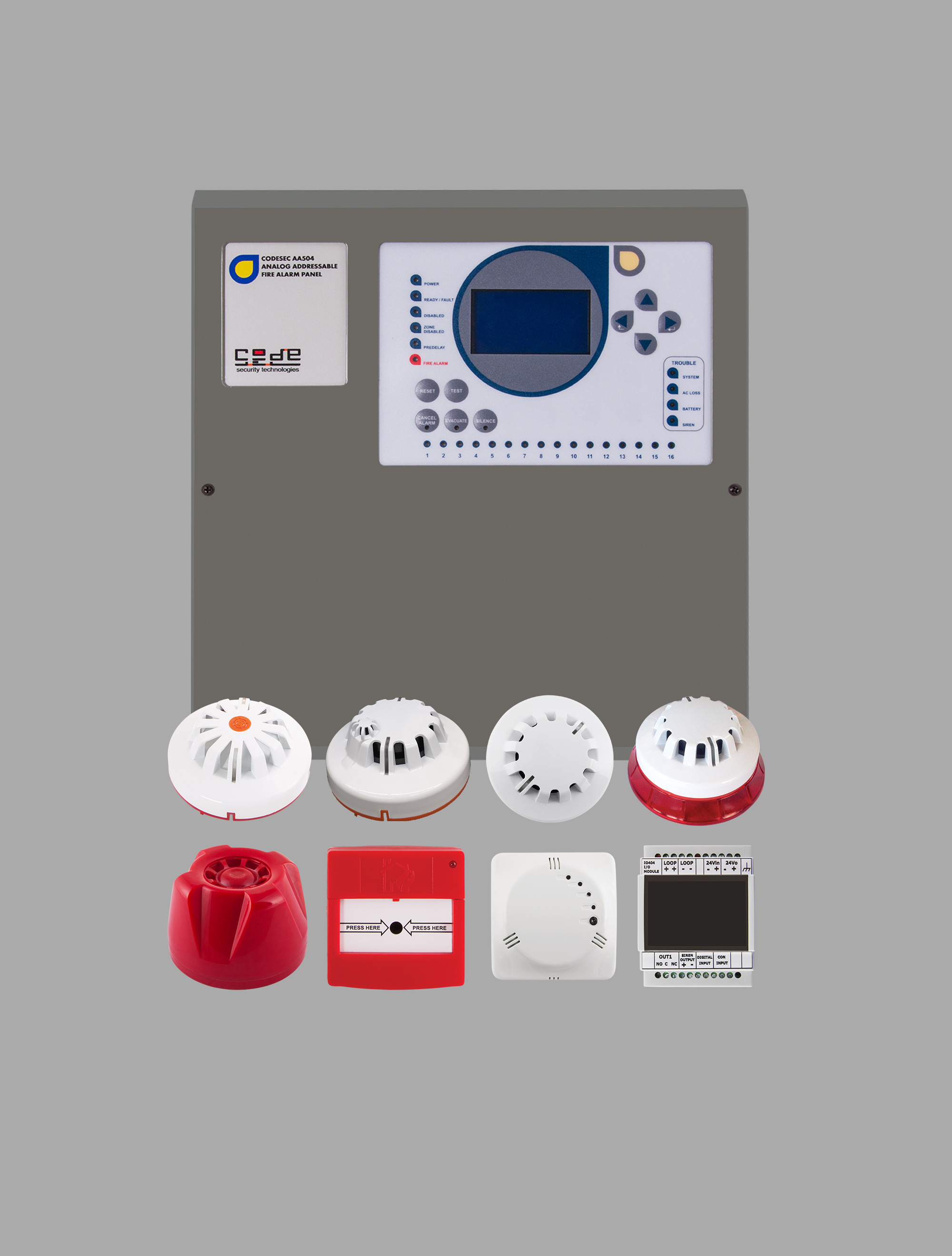 Addressable Fire Detection and Control Systems