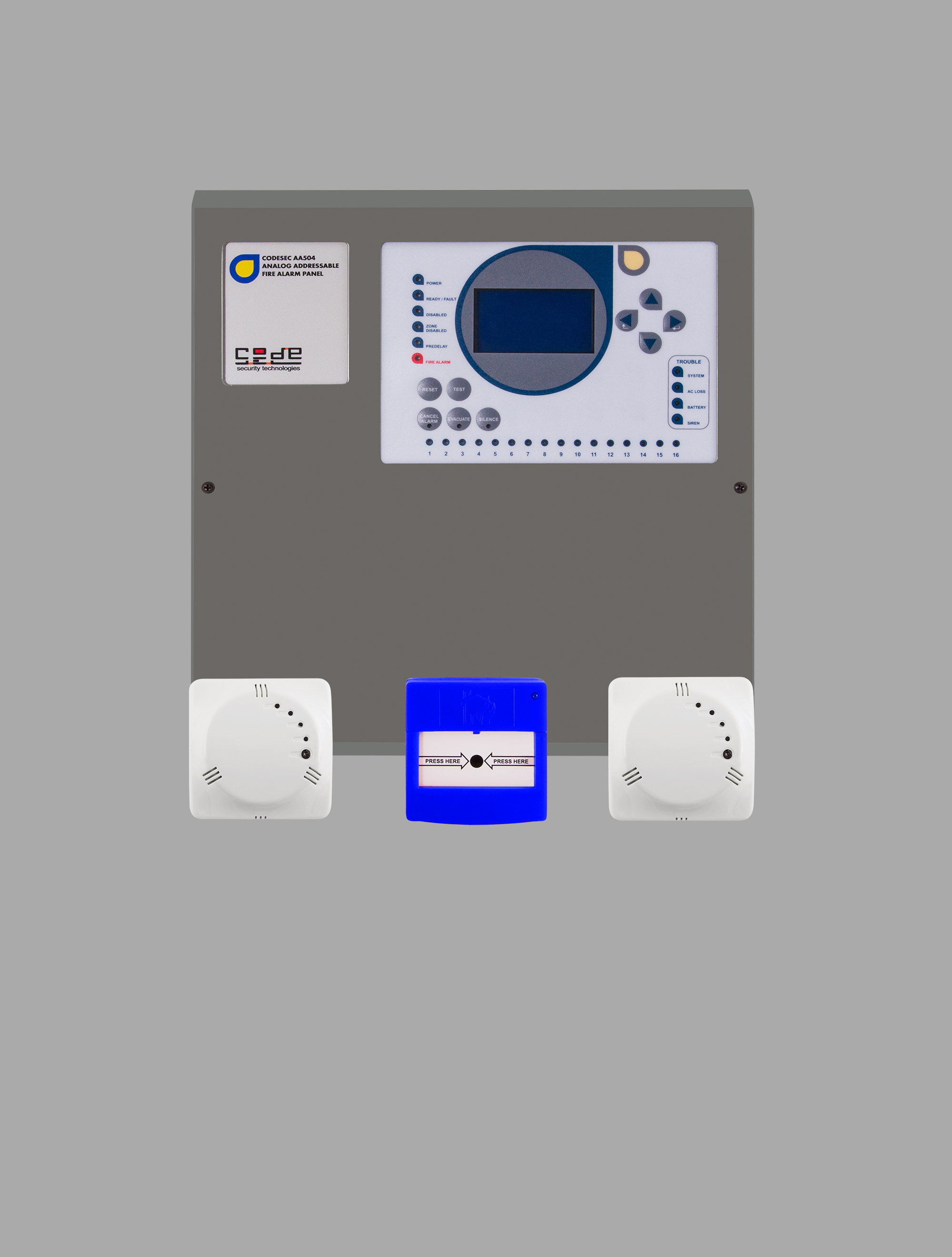 Adressable Carbon Monoxide Control and Indication Systems