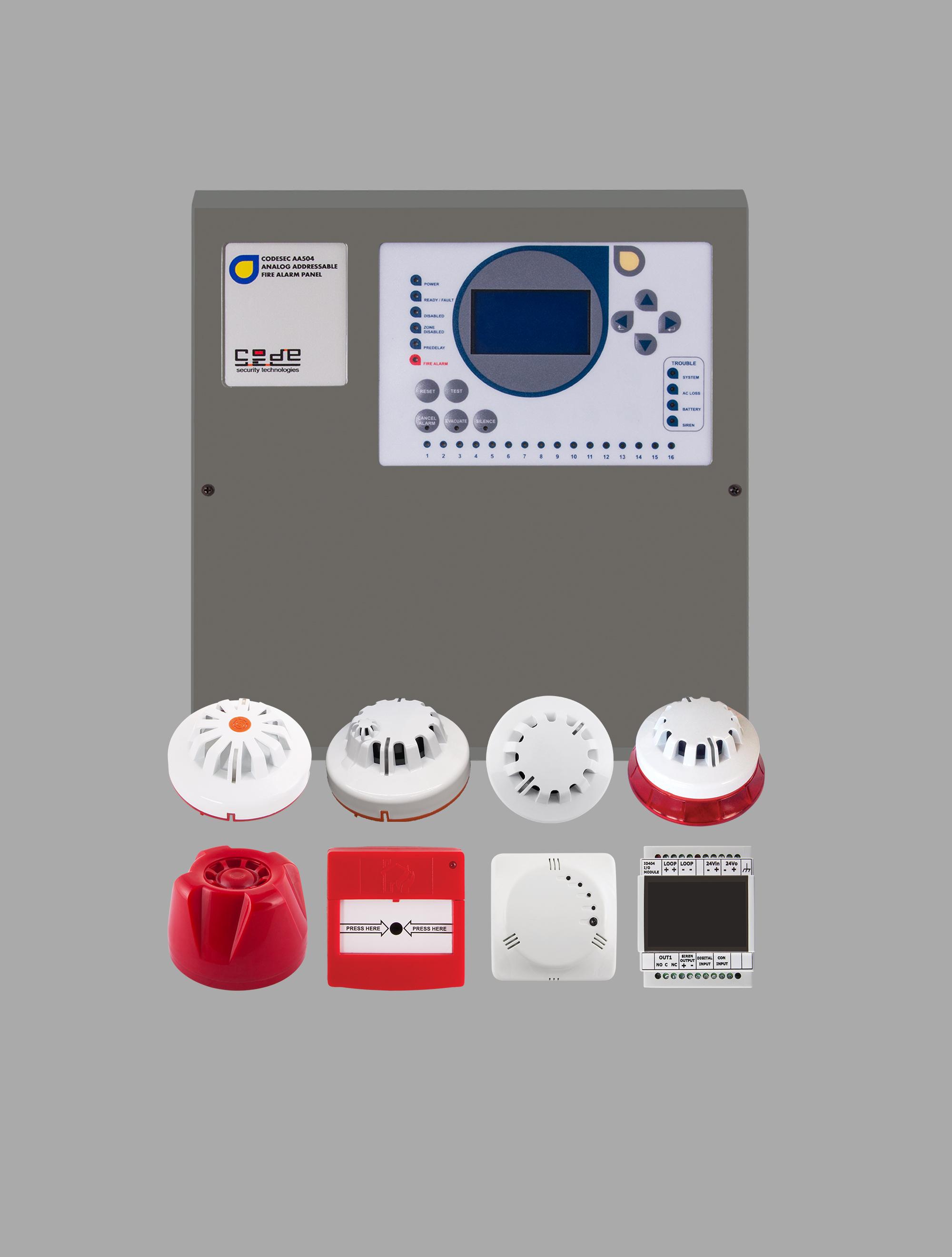 Adresli Yangın Algılama ve Kontrol Sistemleri